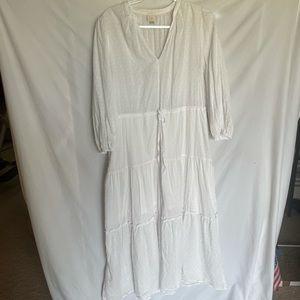 A new day white maxi dress